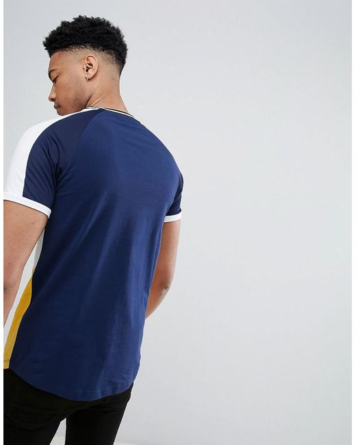 DESIGN muscle raglan t-shirt with contrast colour block and tipping in black - Black Asos Natural And Freely Outlet Enjoy With Mastercard Cheap Online Low Shipping Outlet Looking For kBWq9iDuNS