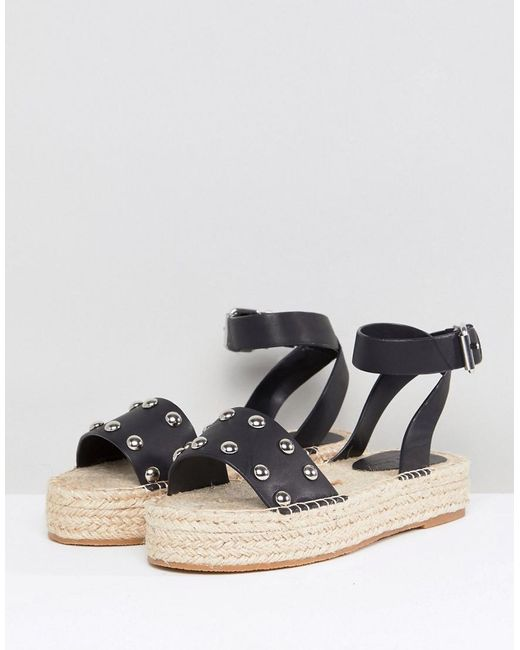 many kinds of online free shipping really DESIGN Jose leather espadrille sandals original online low price KqiUcOli3