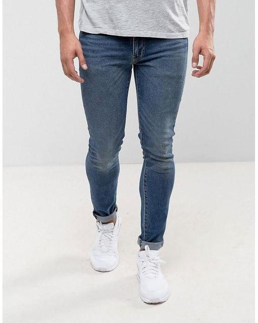 Jeans 511 Slim Fit Gotland Wash - Blue Levi's ooCmB