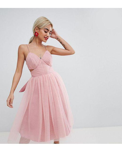 Fine Pink Cut Out Prom Dress Adornment - Wedding Dresses & Bridal ...