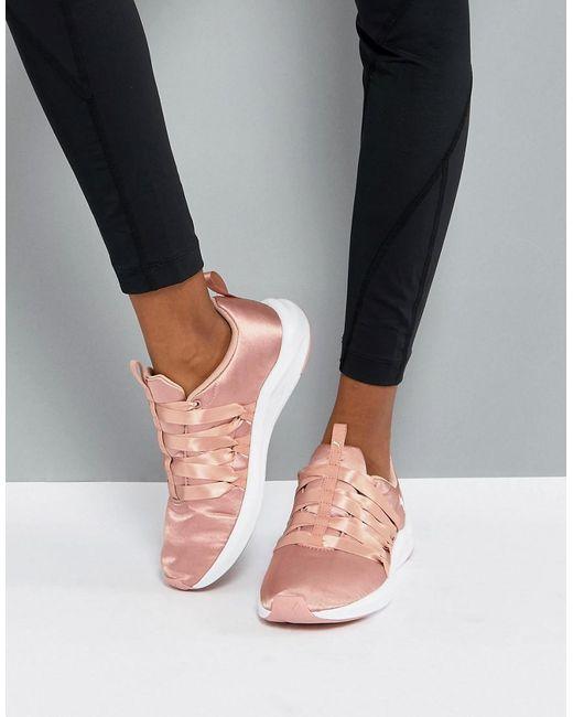PUMA - Prowl Alt Satin Training Sneakers In Dusky Pink - Lyst