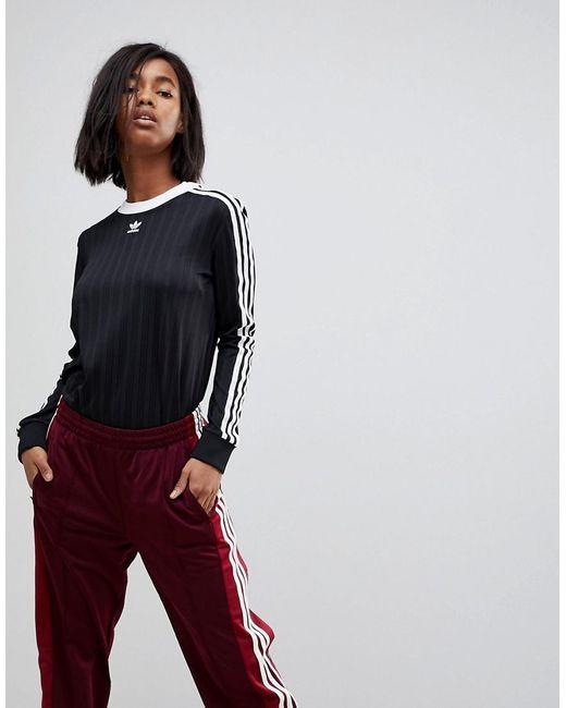 Lyst adidas Originals Originals Adicolor tres Stripe Jersey en