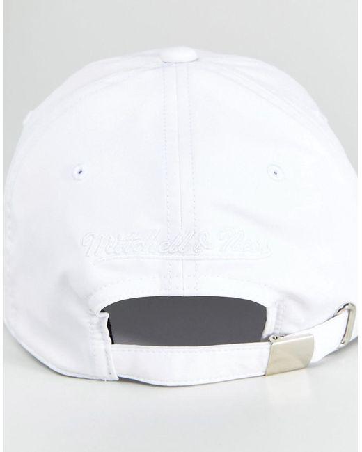 Victory Adjustable Baseball Cap Atlanta Hawks - White Mitchell & Ness Kpa1Zto