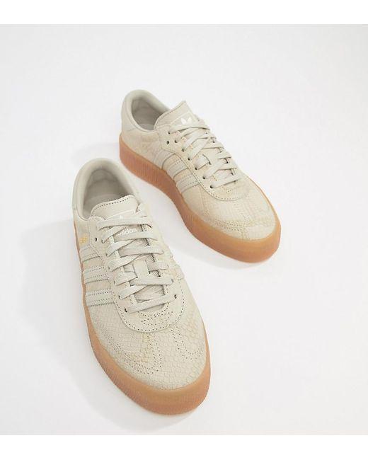 adidas originals trainers tan