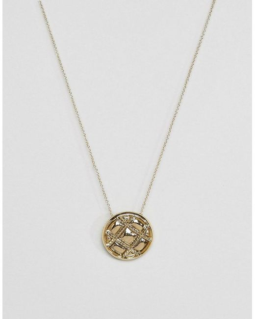 House of Harlow 1960 | Metallic Pendant Necklace | Lyst