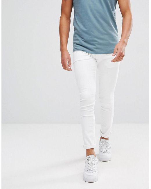 ASOS | Super Skinny Jeans In White for Men | Lyst