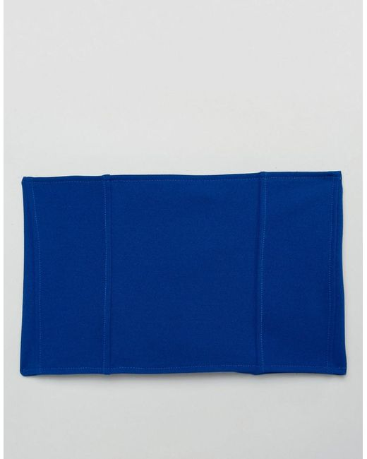 Bright Corset Belt With Large Eyelets - Blue Asos HpA5HSlxq9