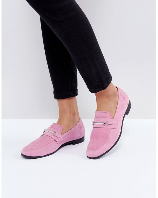 Vagabond - Marilyn Loafer In Pink Suede - Lyst