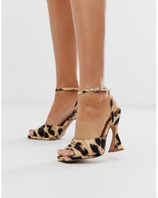 c97fe63afa3 Women's Hakka Platform Heeled Sandals In Leopard