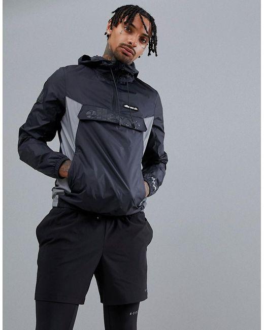 Ellesse - Sport Overhead Jacket In Black for Men - Lyst
