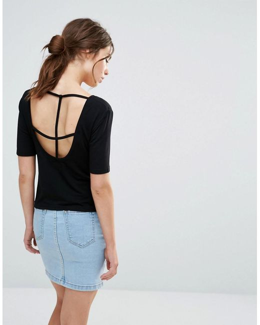 Good Vibes, Bad Daze - Black Good Vibes Bad Daze Cross Back T-shirt - Lyst