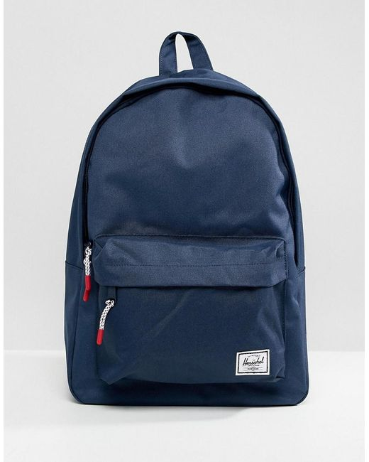 Herschel Supply Co. 22l Classic Backpack in Blue for Men - Lyst 03c0673c8dacc