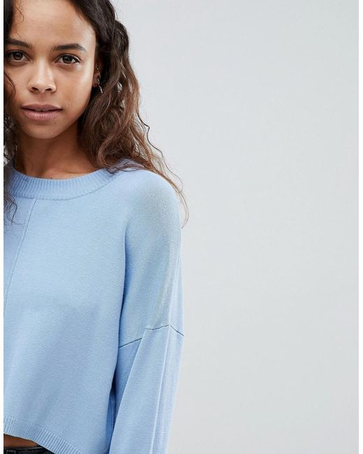ASOS ASOS DESIGN Petite oversized jumper with seam detail Discount Cost Outlet Footlocker Free Shipping Low Shipping Fee XojgX