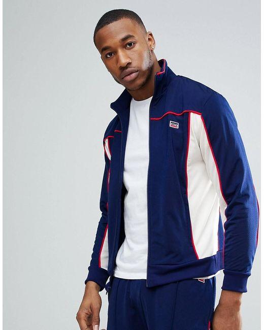 fdfb40acc9e2 Levi's - Blue Sportswear Track Jacket In Navy for Men - Lyst ...