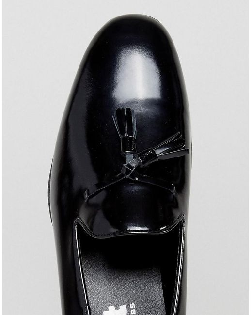 Frank Wright Tassel Loafers In Patent WZt2pv
