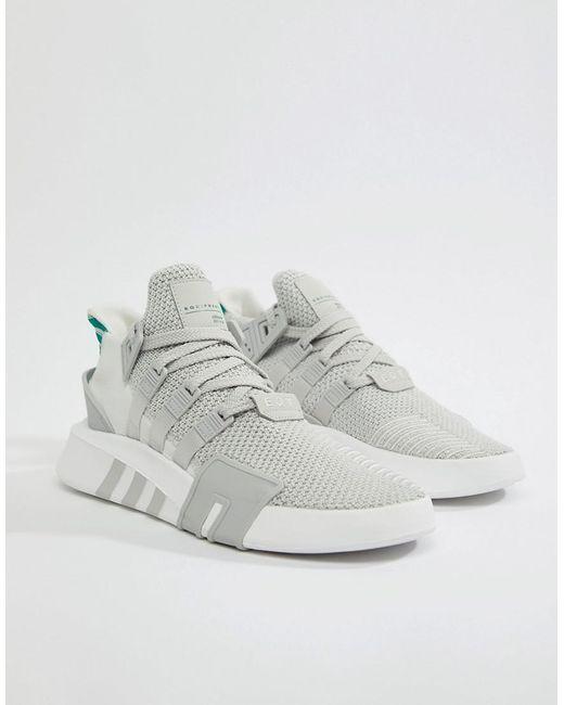 Adidas Originals EQT cesta ADV formadores en gris cq2995 en gris Lyst