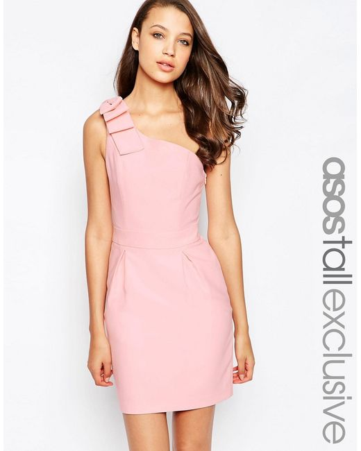 ASOS | White One Shoulder Mini Dress | Lyst