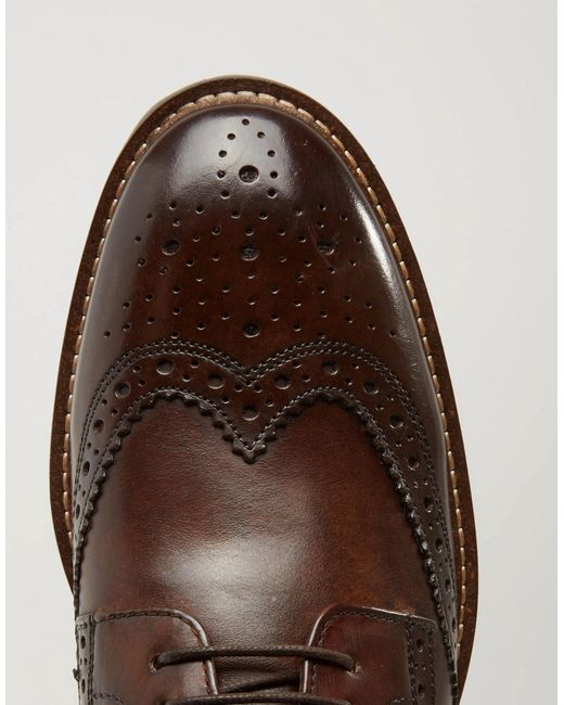 Base London Bayham Leather Derby Shoes