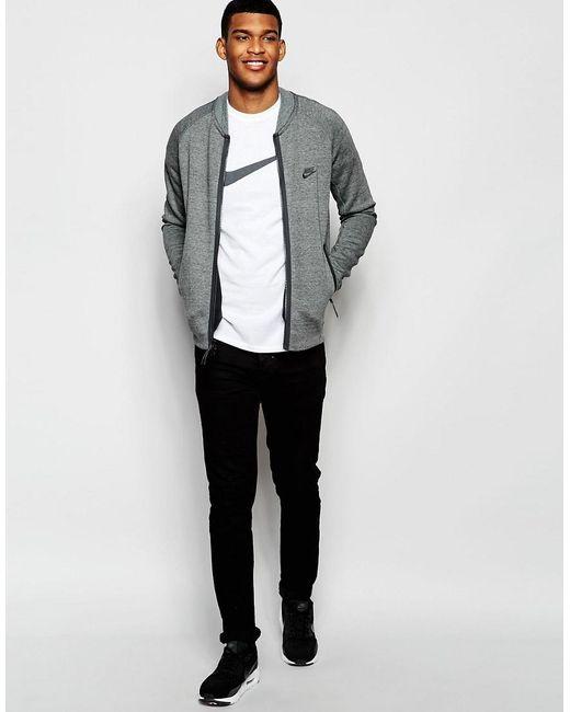 nike air max shox - Nike Swoosh T-shirt 696699-101 in White for Men | Lyst
