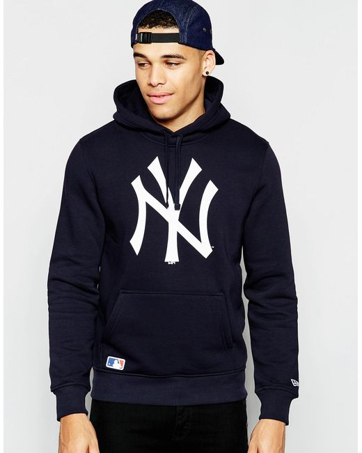 KTZ | New York Yankees Hoodie - Blue for Men | Lyst