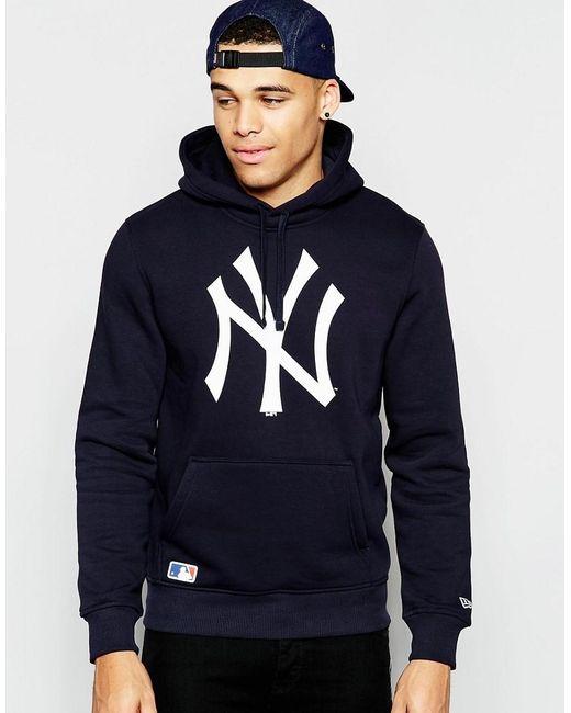 KTZ | Blue New York Yankees Hoodie for Men | Lyst