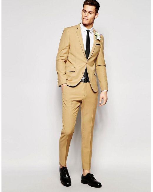 Camel Brown Suit - Hardon Clothes