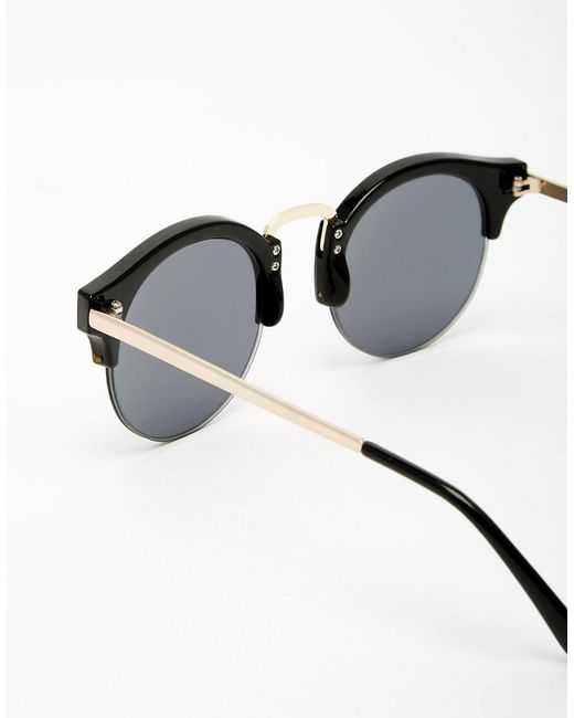 8634e1838463 Black And Gold Round Sunglasses - Bitterroot Public Library