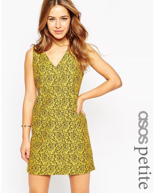 ASOS   Multicolor Petite Shift Dress In Lace   Lyst