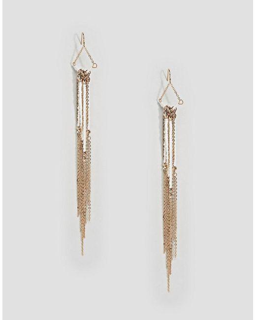 ALDO | Metallic Statement Beaded Drop Earrings | Lyst