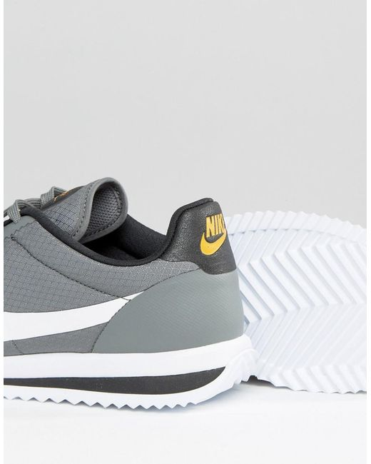 ... Nike - Gray Cortez Ultra Trainers In Grey 833142-003 for Men - Lyst