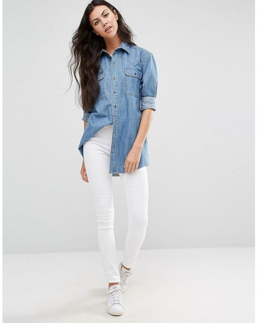 Shopping Online Outlet Sale DESIGN Boyfriend Jeans In Mid Wash With Varigated Sequins - Mid wash blue Asos Clearance Lowest Price WrKbkwkf