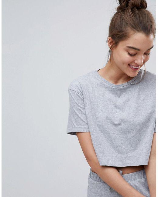 ASOS DESIGN - Gray Asos Mix & Match Pyjama Tee - Lyst