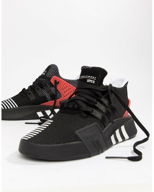 f87b37604a1a Adidas Originals - Eqt Bask Adv Sneakers In Black Aq1013 for Men - Lyst ...
