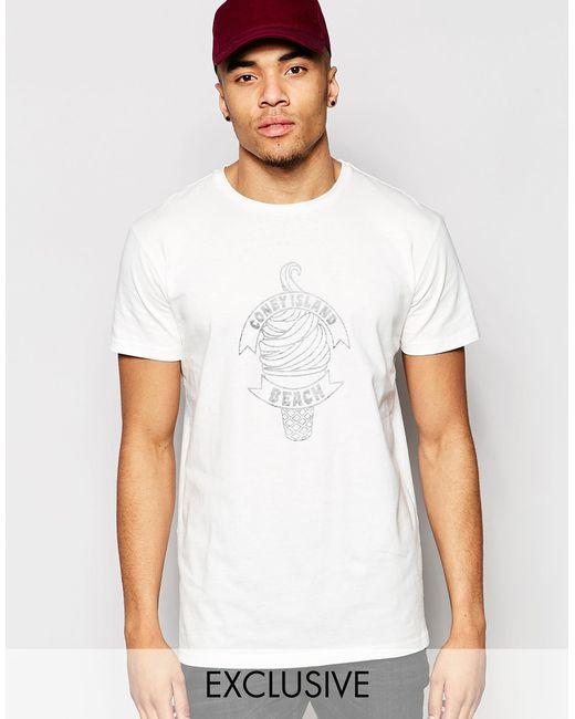 Brooklyn supply co t shirt coney island beach reverse for T shirt printing brooklyn