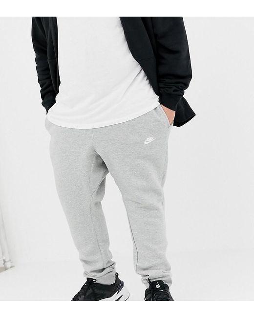 68e5b4ead4f91 Nike - Gray Tall Cuffed Club Jogger In Grey 804408-063 for Men - Lyst ...
