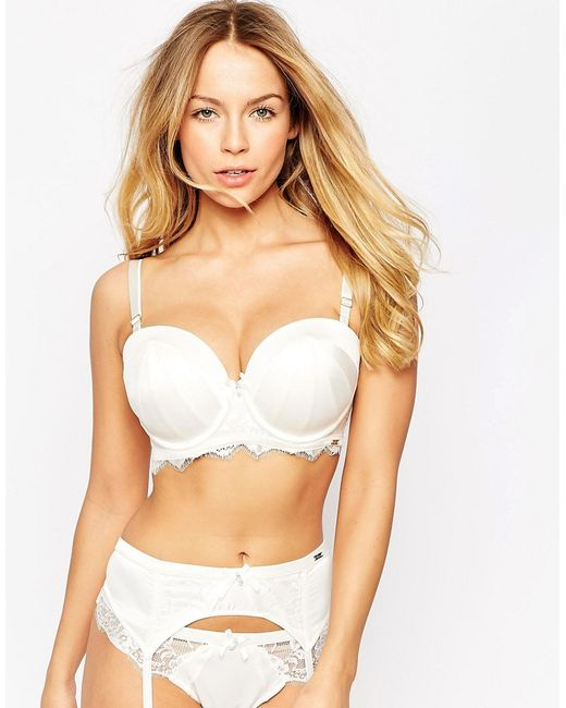 Ultimo Bridal Multiway Bra Dd-g Cup In White (Ivory)