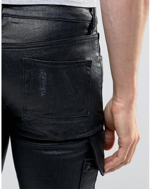 Skinny Stretch Jeans Men