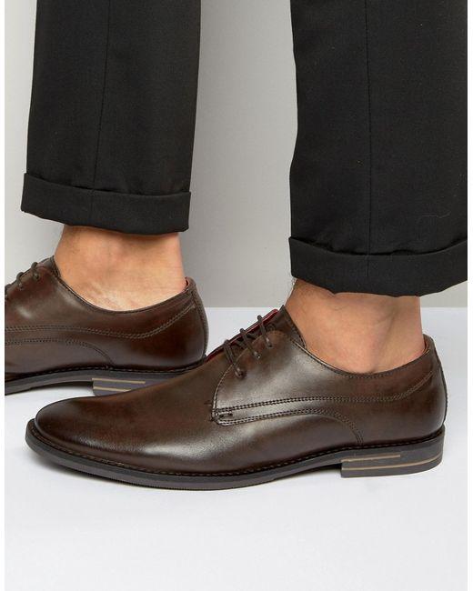 Base London Concert Leather Derby Shoes