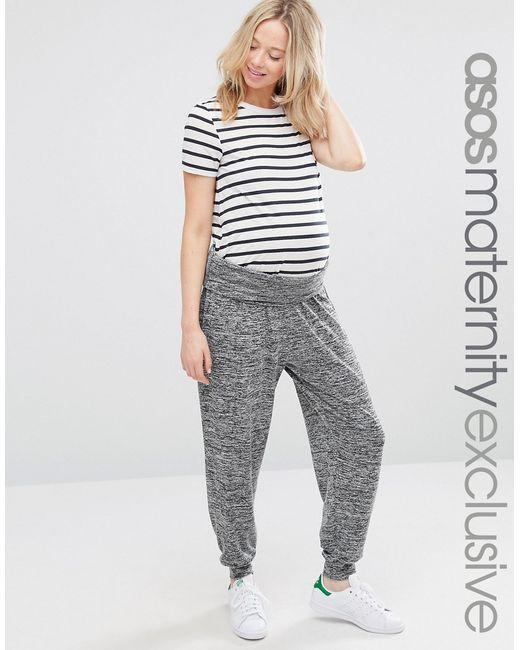 ASOS | Gray Lounge Hareem Pants | Lyst