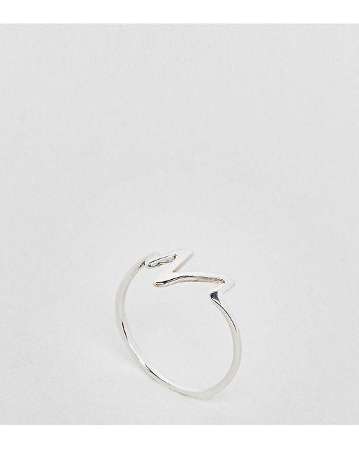 Kingsley Ryan - Metallic Sterling Silver Heartbeat Ring - Lyst