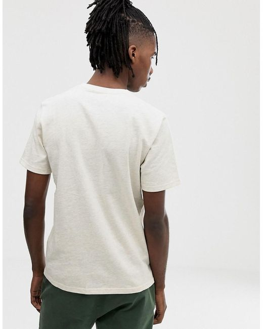 6f9d6bf78 ... Carhartt WIP - White Short Sleeved Holbrook Greetings T-shirt for Men -  Lyst