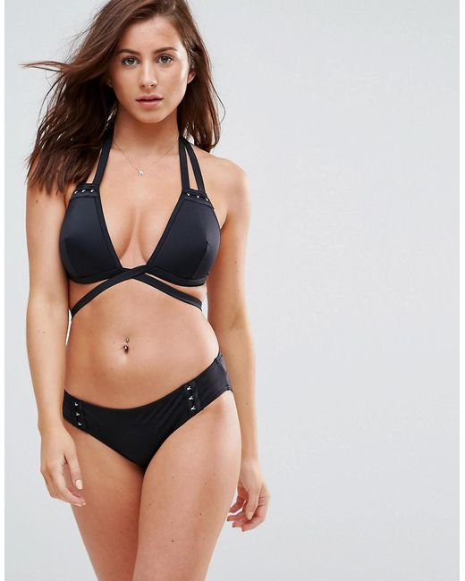 Manchester Great Sale Sale Online FULLER BUST Mix and Match Moulded Bardot Bikini Top with Hook and Eye DD-G - Black Asos Wholesale Price Cheap Online High Quality Cheap Online Professional For Sale Buy Cheap Store 9cZ0Ij