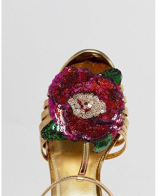 ASOS HONEY BLOOM Embellished Heeled Sandals HD4OjjT9iZ