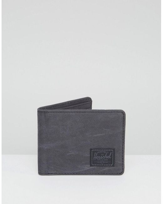 Herschel Supply Co. | Black . Hank Wallet With Rfid for Men | Lyst