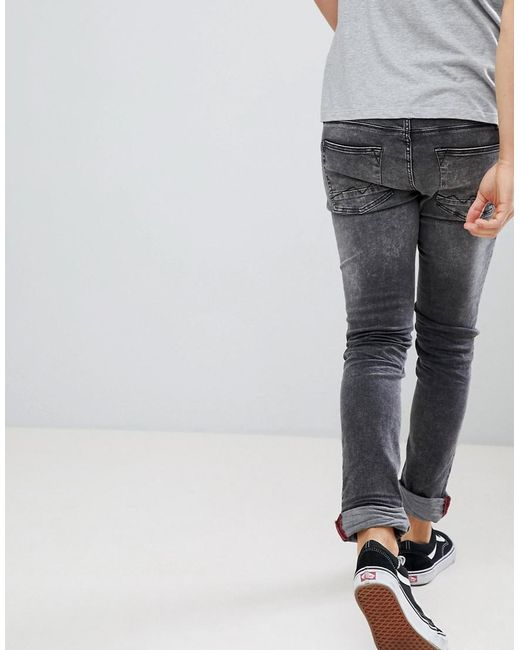 ca23b854 ... Blend - Gray Cirrus Distressed Skinny Jeans In Grey for Men - Lyst