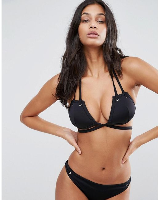 Asos Fuller Bust Mix And Match Strappy Triangle Bikini Top