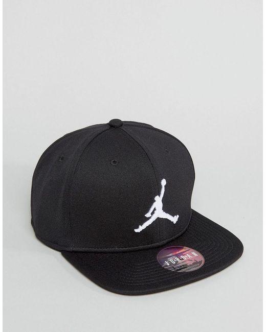 Nike Jordan Jumpman Cap Snapback En Noir 861452-013 - Noir Nike JGIy0