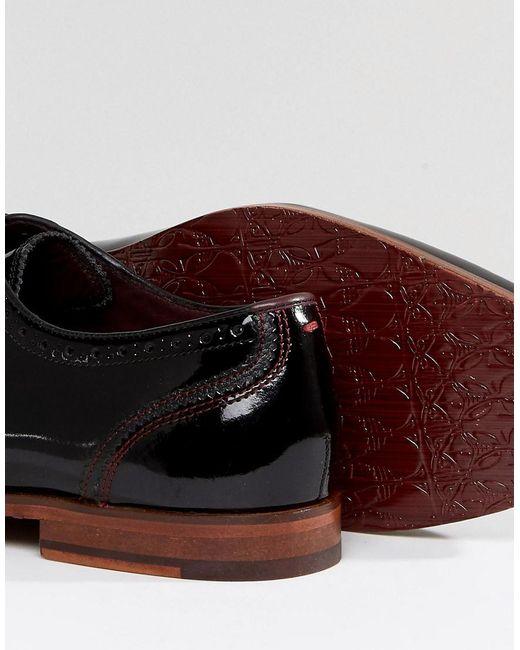 Anice Brevets Oxford Chaussures Richelieu - Noir Boulanger Ted TiNxV