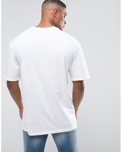 f0ddf58b244e0 ... Polo Ralph Lauren - Tall Crew Neck T-shirt With Logo In White for Men