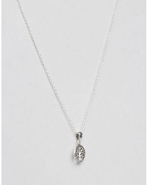 kingsley sterling silver tree of pendant